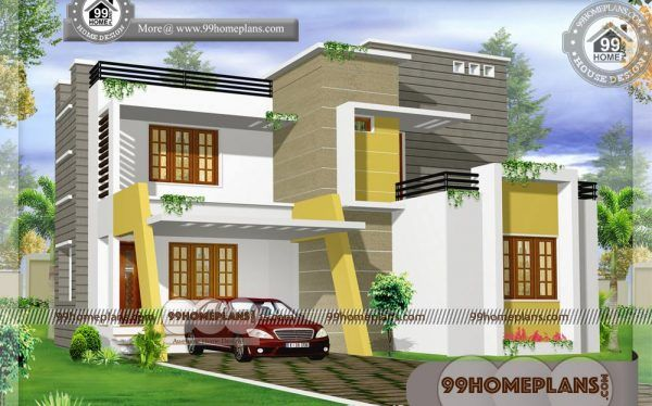Ready House Plans 50 Double Storey Floor Plans Beautiful Exteriors Small Contemporary House Plans Indian House Exterior Design Beautiful House Plans