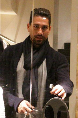 Image detail for -Marco Borriello, shopping milanese - foto - Virgilio Gossip