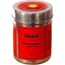 Khadi Натуральная краска для волос хна и амла, 150 г