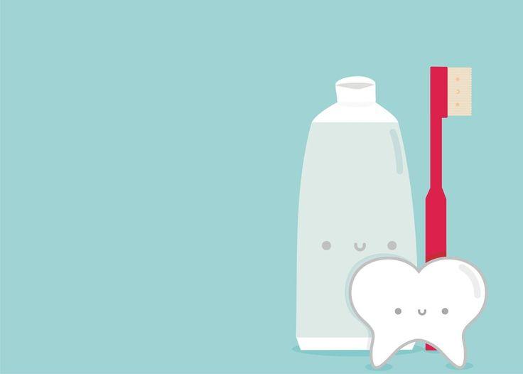 ¿Se dieron cuenta de que están sonriendo? Gráfico dental lindo!