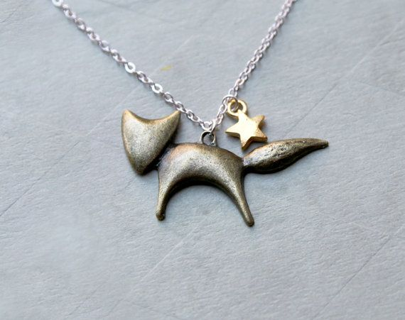 Le Petit Prince Fox Necklace