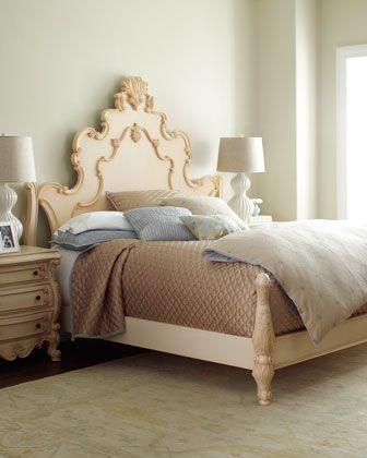 nicolette cream king bed cream bedroom furniturebedroom decormaster - Cream Bedroom Ideas