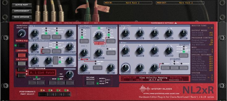 """KVR: Mystery Islands Music releases beta of """"NL2xR"""" for Clavia Nord Lead / Rack 1, 2 & 2X Hardware Synthesizers"""