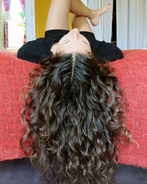 Curly hair tips!