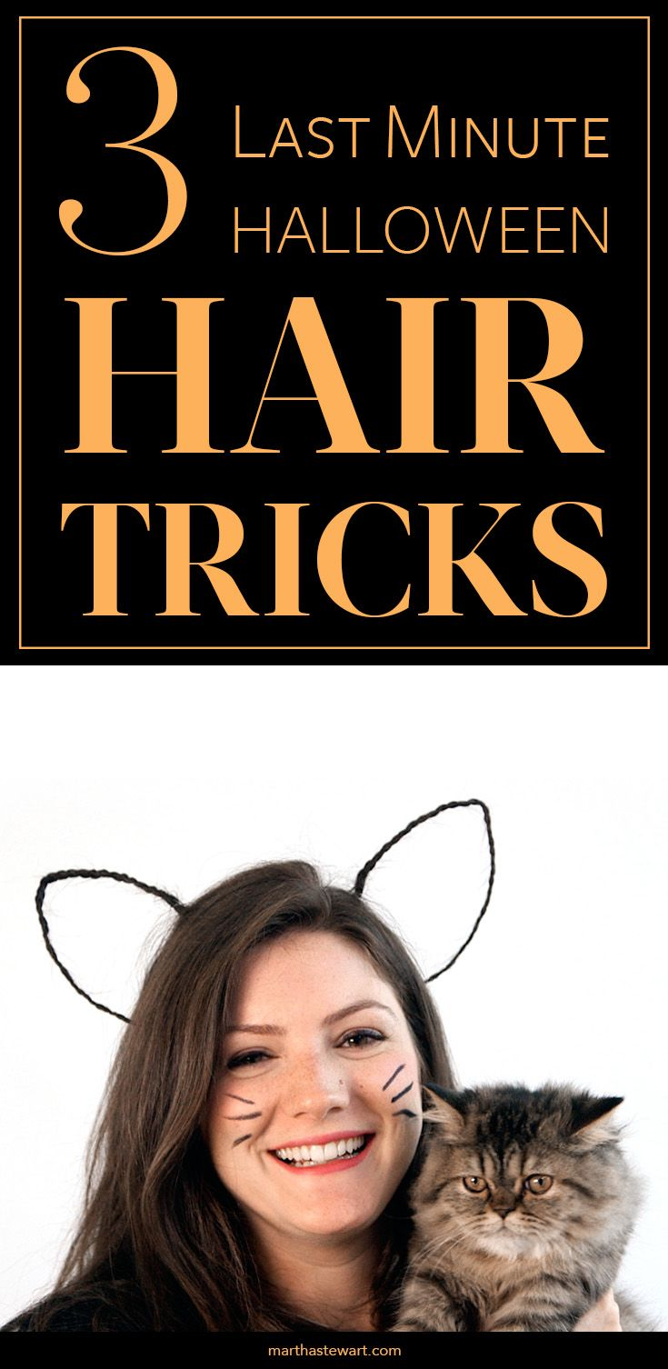 3 halloween hair tricks you can make in under 5 minutes for 5 minute halloween decorations