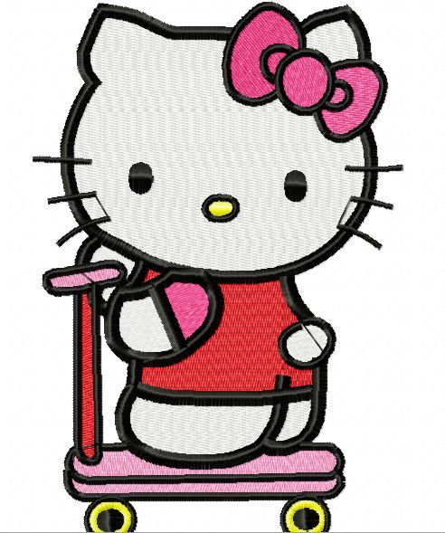 Download This Design!!  http://www.dreamsembroidery.com/2014/06/hello-kitty-design-number-73-a.html