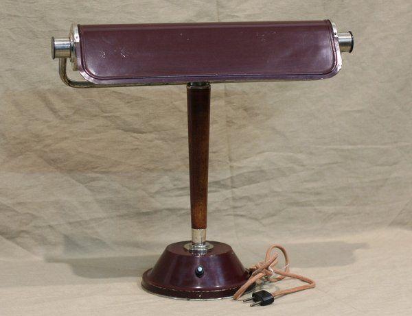 Старинная люминесцентная лампа