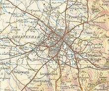 Some great info on Cheltenham, the large town near Cate!