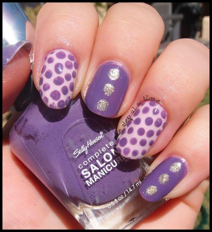 Purple Dotticure! #nails