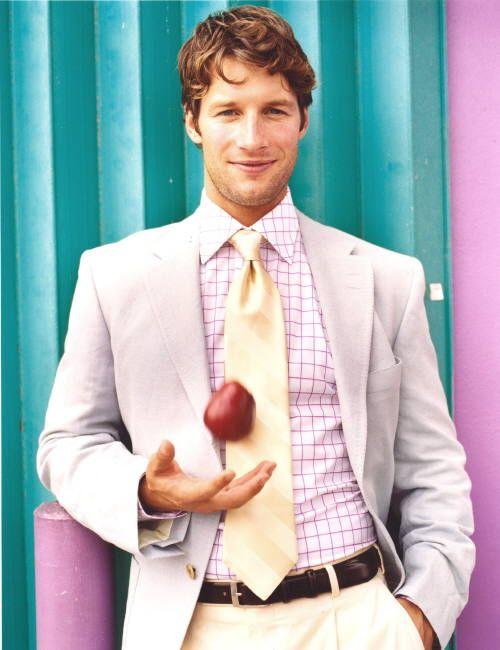 Don Schneider (2005) #DonSchneider #malemodel #model #FrontManagement #FrontModels #apple #tie #smile #jacket