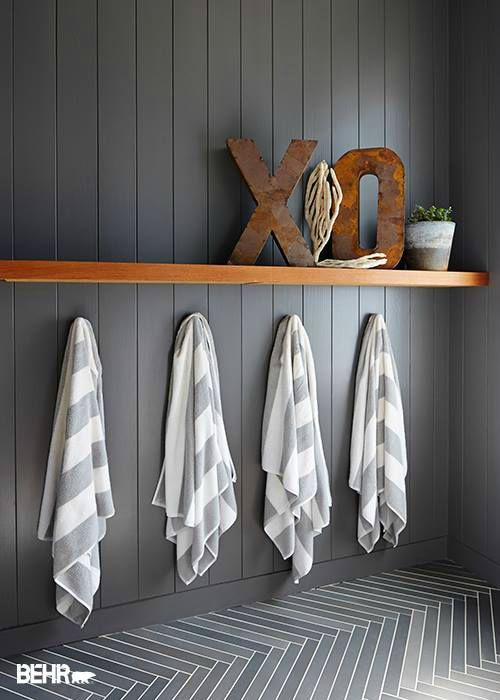 Don't be afraid to lean toward dark, heavy hues when painting your home - Best 25+ Paint Wood Paneling Ideas On Pinterest Painting Wood