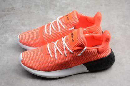 b873d63eb13 adidas Tubular Dusk Primeknit Solar Red White Core Black Shoes Sale ...