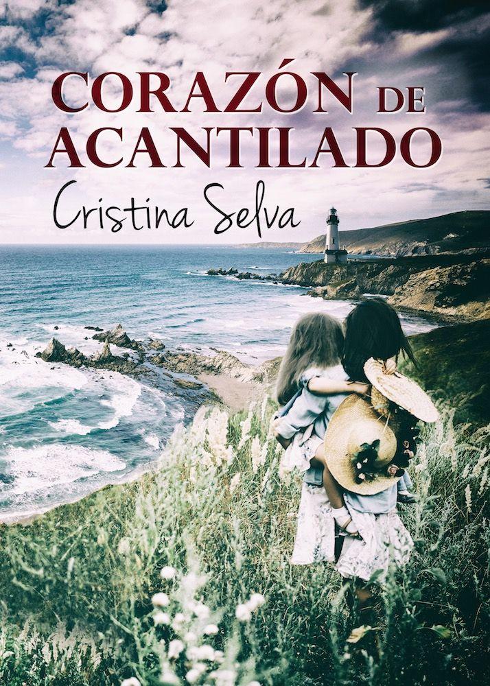 Portada de Corazón de Acantilado, la nueva novela de Cristina Selva. Realizada por Alexia Jorques.