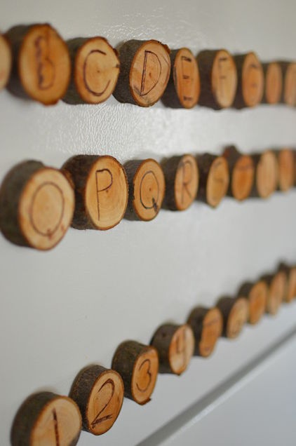 DIY Magnetic Letters
