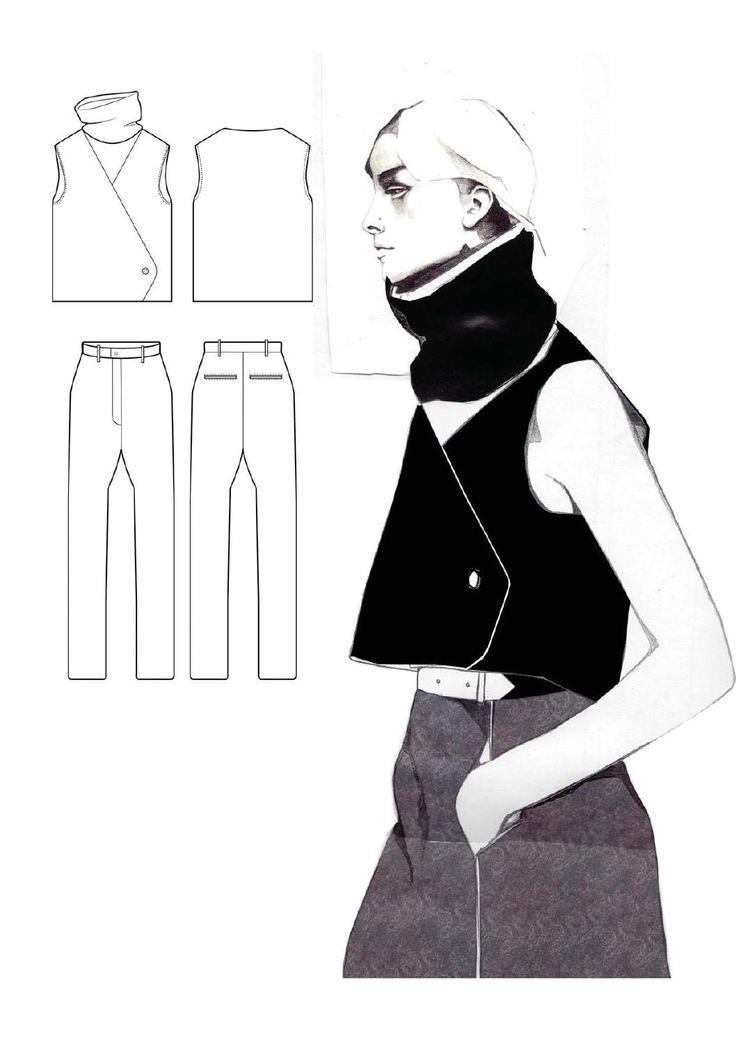 WESTMINSTERFASHION Andrew Voss portfolio  The BA (Honours) Fashion Design