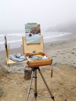 En Plein Air: At The Beaches, Oil Paintings, Buckets Lists, The Ocean, Outdoors, Beaches Scene, Beaches Houses, Art Rooms, Beaches Paintings