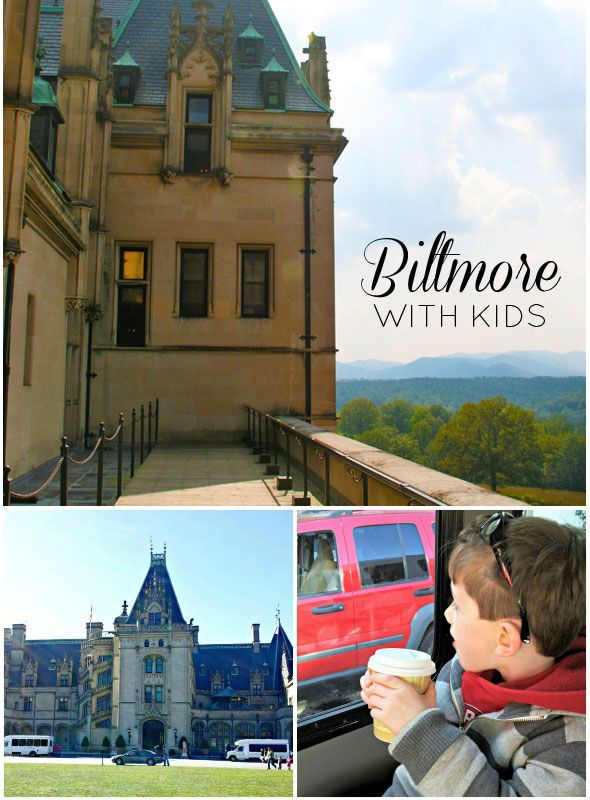 Visiting Biltmore Estate with kids - I'm sort of like a big kid, so maybe? Looks like North Carolina's Hearst Castle.