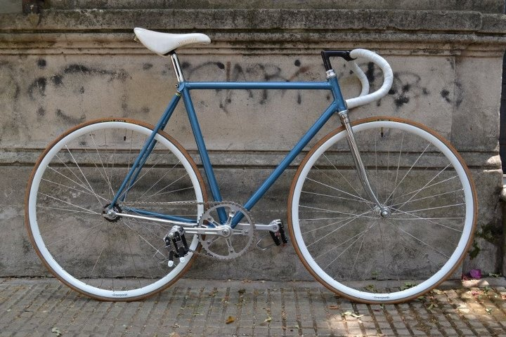 Born in Garage: Emile Brunneau: 65 años de bicicleta de pista.