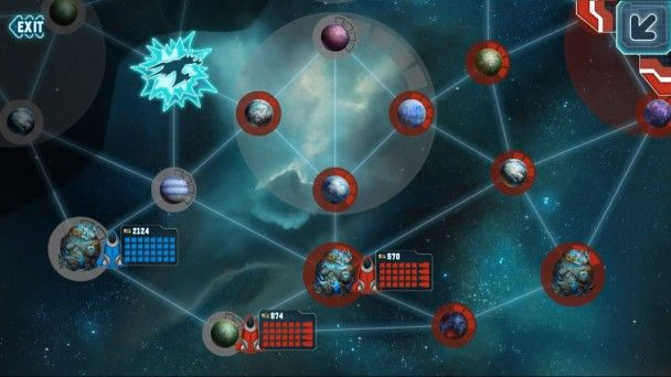 Galactic Reign Map