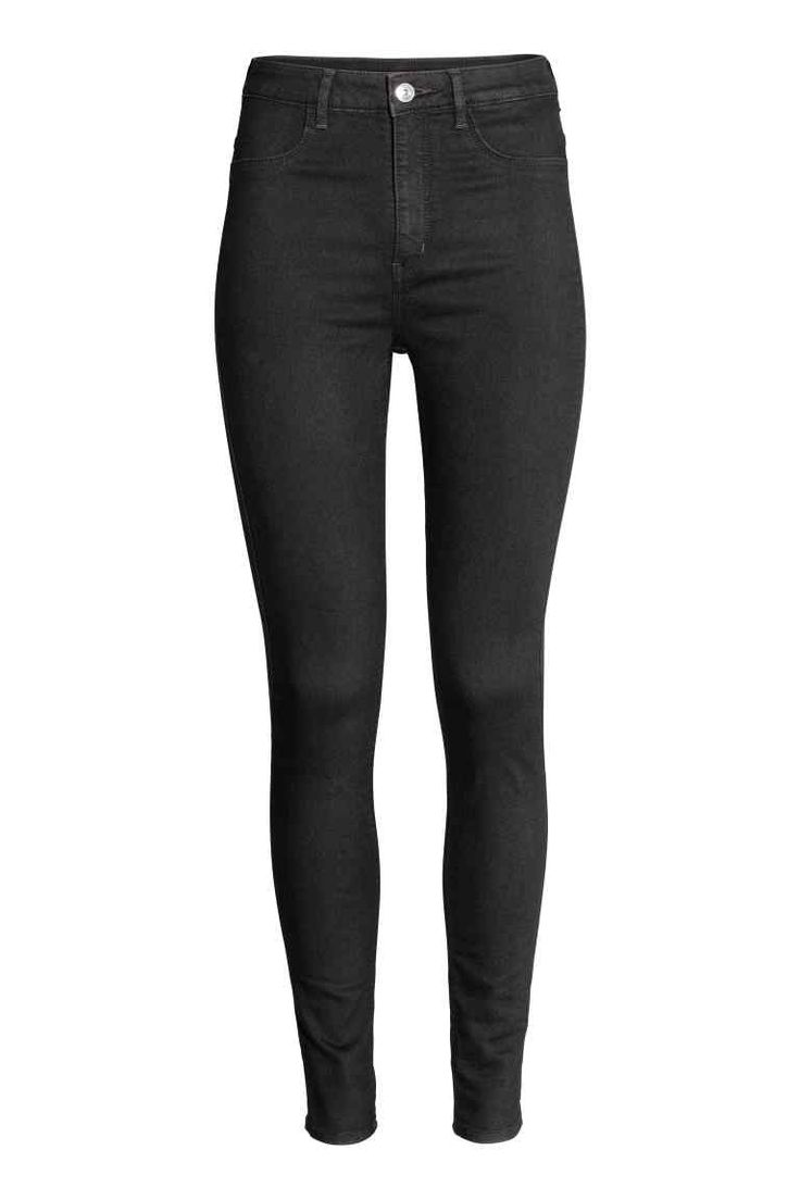 Super Skinny High Jeans - Siyah kot - Ladies | H&M TR
