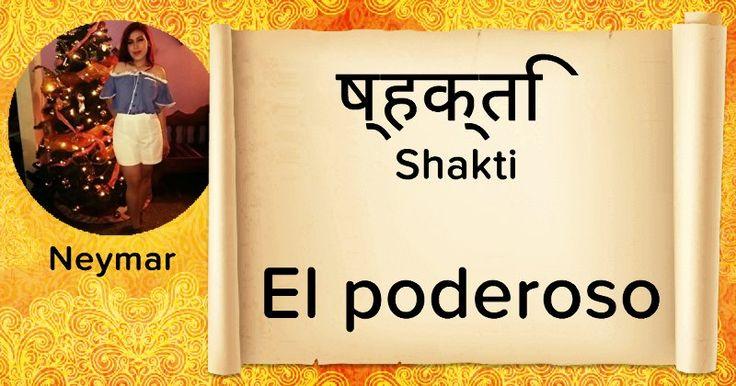 ¿Cómo es tu nombre en sánscrito?