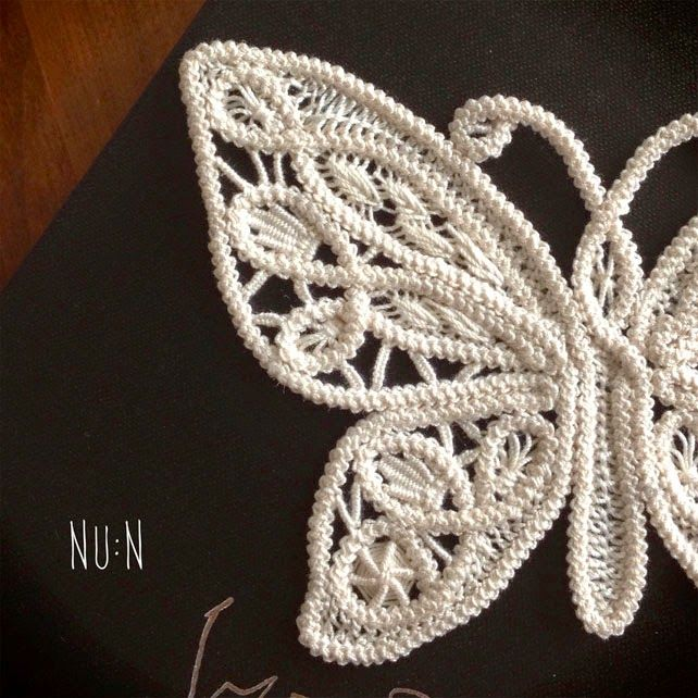 Romanian Point Lace Butterfly