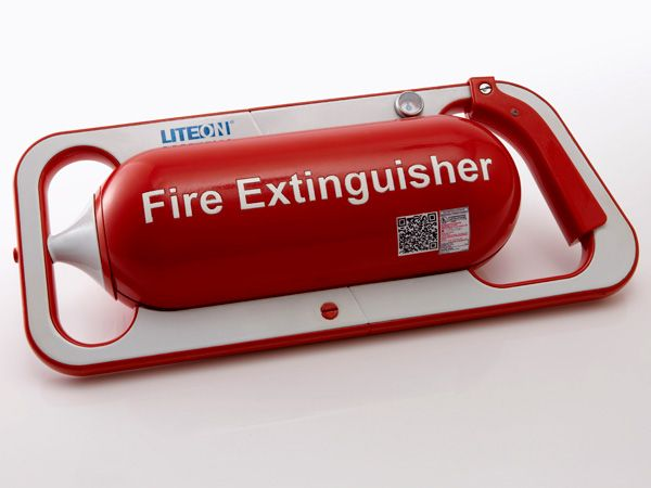 LBS Portable Fire Extinguisher (concept) | Designer: Shao-Feng Wang