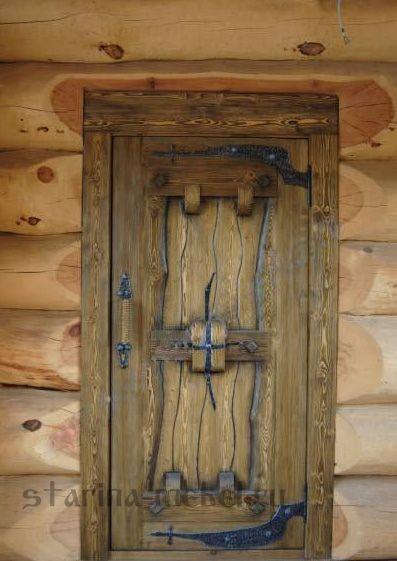 Дверь под старину  Хоттабыч