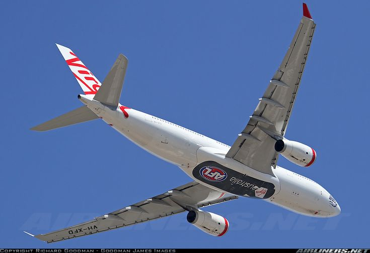 Virgin Australia Airlines VH-XFD Airbus A330-243 aircraft picture
