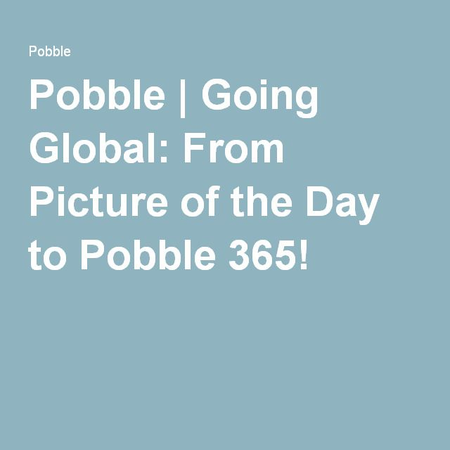 Picture prompts for writing from Picture of the Day to Pobble 365!