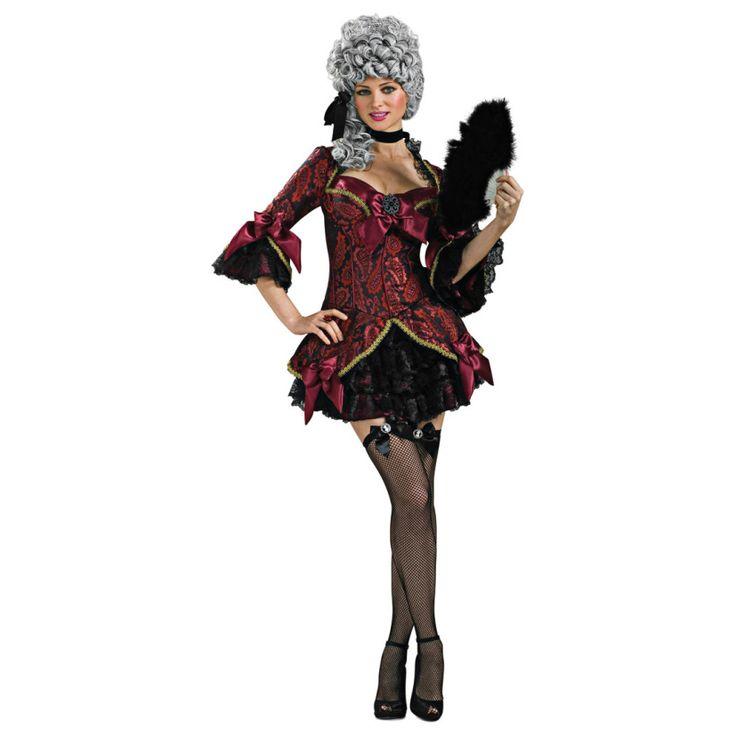 RUBIES COSTUMES REF: 888882 - DISFRAZ DE DAMA ANTIGUA - LADY VERSAILLES. Incluye vestido y medias. PRECIO COLOMBIA: 195.000