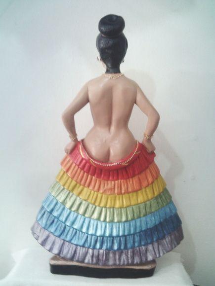 Seven Skirts - 7 Saias - Female Exu - Pomba Gira - Elemental - Fae - Salve Todas As Pomba-Giras - Viva - Cheers - Laroye