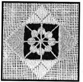 Bordados lição 16 - Lace-Queen laço da rainha Anne