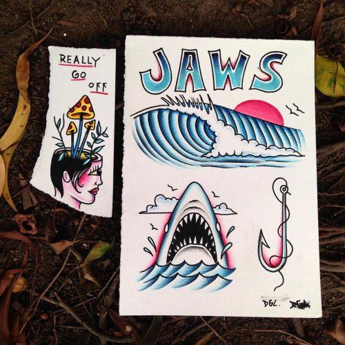 A quebrada produz e é de qualidade. #jaws #waves #tattoo #diguila (at Praia Da Costa - Vilha Velha, Es)