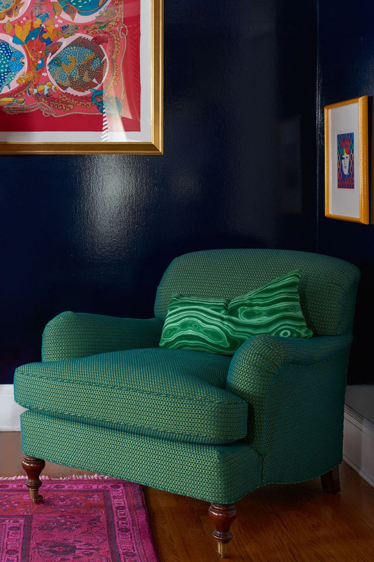 Friends With Benefits. Comfy ArmchairGreen ...
