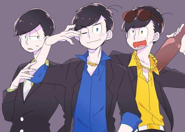 Choromatsu, Karamatsu & Jyushimatsu