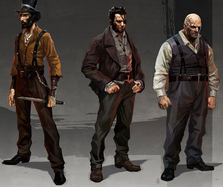 Dishonored - character concept art. Portrait. Digital painting. Design idea. #photoshop #game #video #male #men
