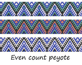 Patterns made with size 11/0 Miyuki Delica seed beads Width: 0.95 (18 columns) Length: 6.91 Technique: Even Count Peyote Colors: 4   Pattern includes: - Large colored numbered graph paper (and non-numbered in another files) - Bead legend (numbers and names of delica beads colors ) - Word chart - Pattern preview  PLEASE NOTE: !!! PATTERN DOES NOT CONTAIN ANY INSTRUCTIONS OR MATERIALS !!!  1 PDF file: (Instant download, links are available once your payment is confirmed)  These patterns ar...