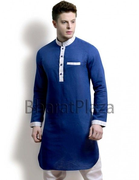 Superlative Linen Pathani Suit Item code : SKB2704B  http://www.bharatplaza.com/new-arrivals/kurta-pyjamas/superlative-linen-pathani-suit-skb2704b.html