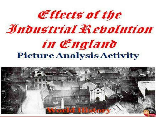 the effects of the industrial revolution in the world essay Obviously the greater story is the effect on britain's empire and there are many examples of neo-imperialism in my paper but suffice it to say that the industrial revolution did not directly lead to imperialism but how did the neolithic revolution lead to the industrial revolution.