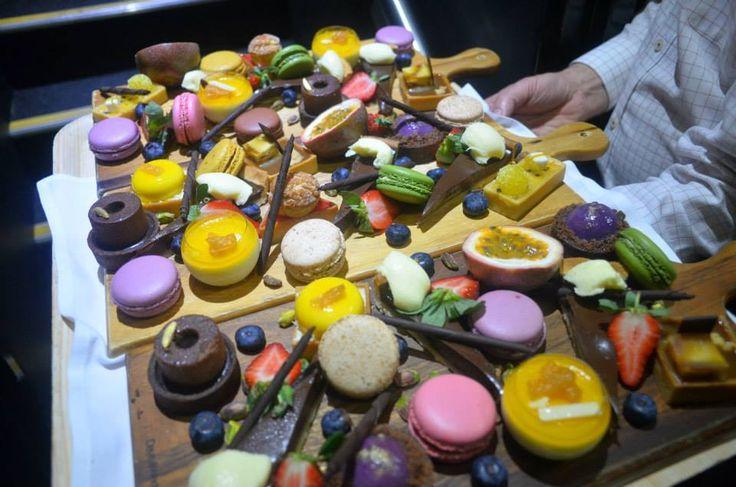 Dessert plate at our Urban Insta-Eat - Hotel Urban Brisbane