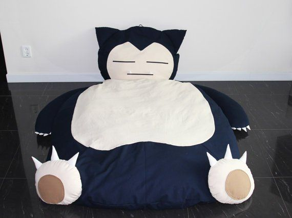 Make your Pokémon dreams come true with this adorable Snorlax bed by Catherin Kim of iamknight.