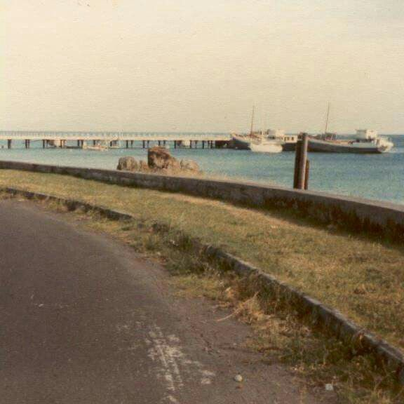 Marine Drive, Plymouth. Before Volcano
