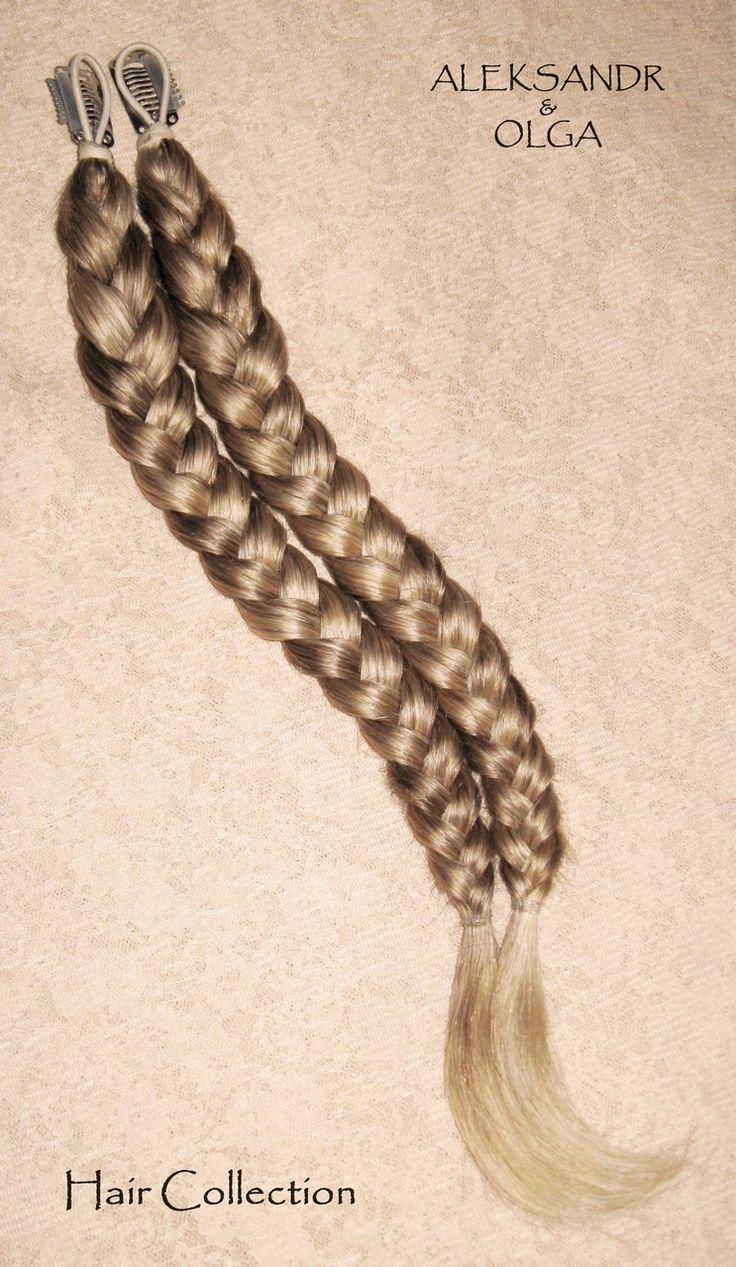 КОСИЧКИ light на заколках - постиж, мелирование, лёгкие косички (из натуральных волос) http://www.aleksandr-and-olga.ru/ http://www.livemaster.ru/hair-collection