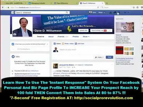 Social Pro Revolution - How To Use Facebook Action Center New Messaging - YouTube