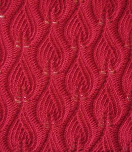 Candle Flames Cloth: Free #Knit Afghan Square roundup on Moogly!