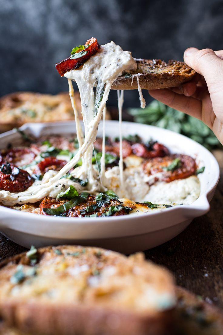 Margherita Pizza Dip (with Burrata) | halfbakedharvest.com @hbharvest