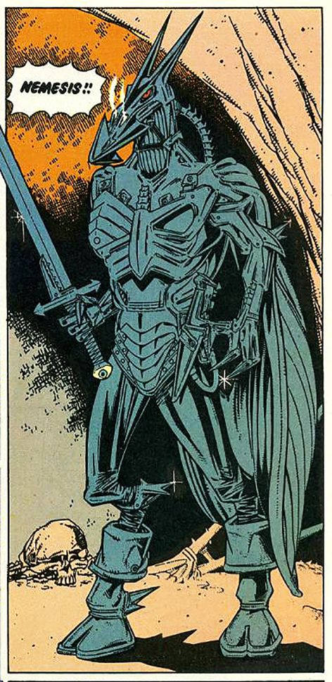 Kevin O'Neill_2000ad, Nemesis the Warlock's first appearance