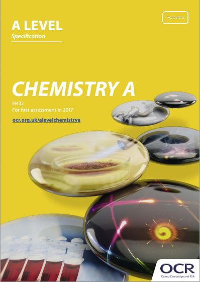 ocr a level chemistry textbook pdf
