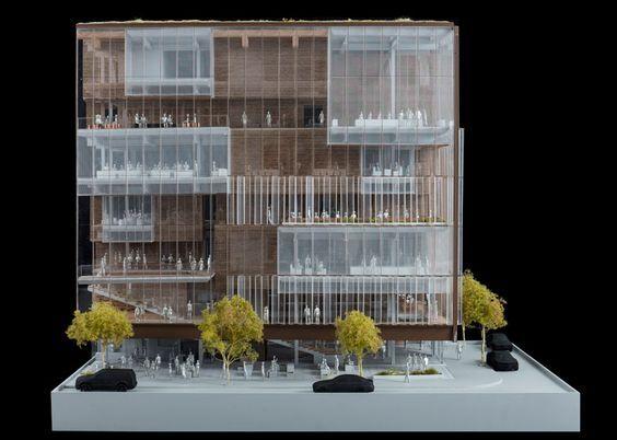 "modelarchitecture: "" SHoP Architects unveils designs for Uber's San Francisco HQ 1.8ksaves """